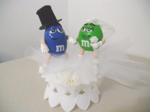 Wedding Bells for Blue M&M and Green M&M?