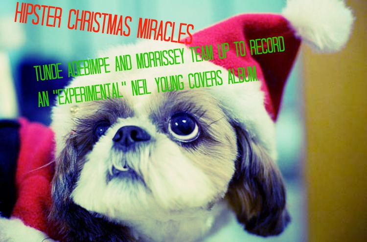 Hipster Christmas Miracles - Tunde Adebimpe, Morrissey, Neil Young