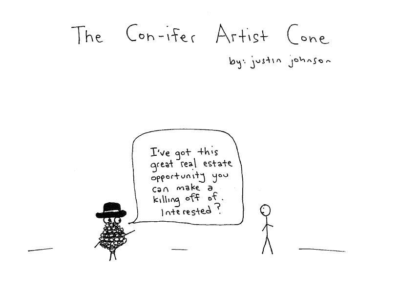 The Con-ifer Artist Cone