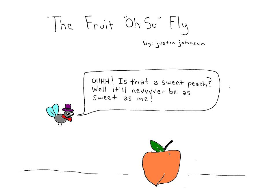 The Fruit Oh So Fly Cartoon