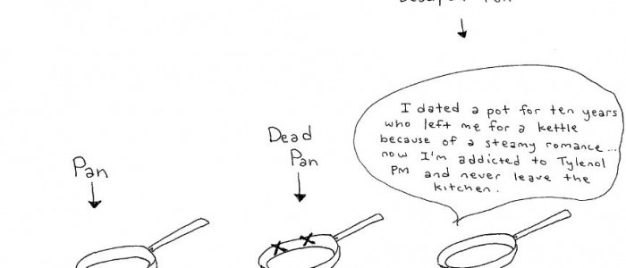 Deadpan Cartoon