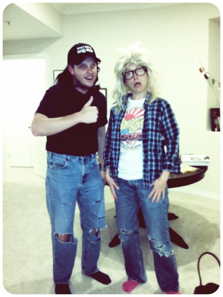 Wayne and Garth - Wayne's World  - Halloween Costume