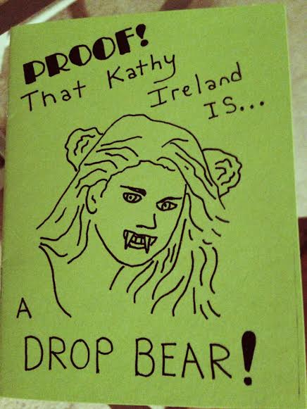 PROOF That Kathy Ireland is a Drop Bear