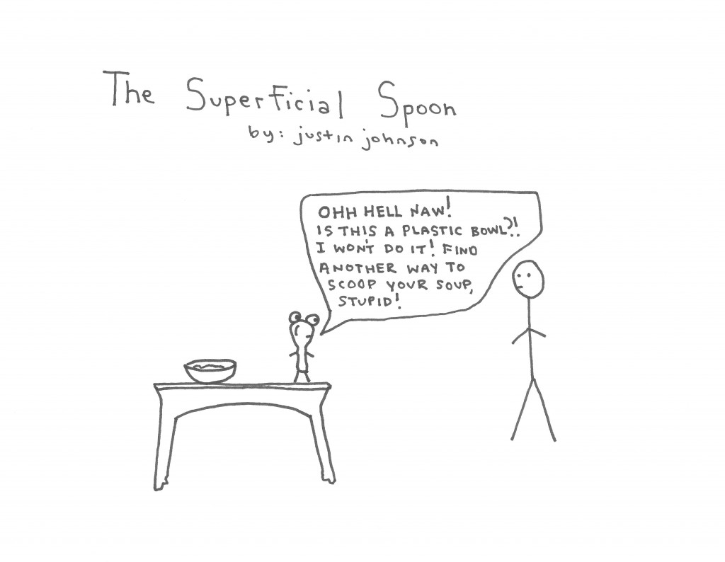 The Superficial Spoon by Justin J. Johnson