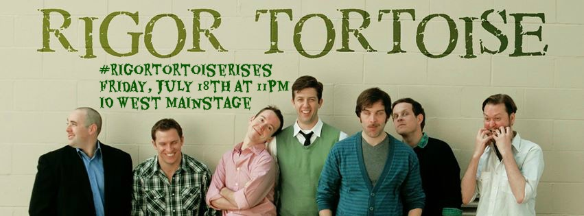 Rigor Tortoise Rises July 18 at iO West