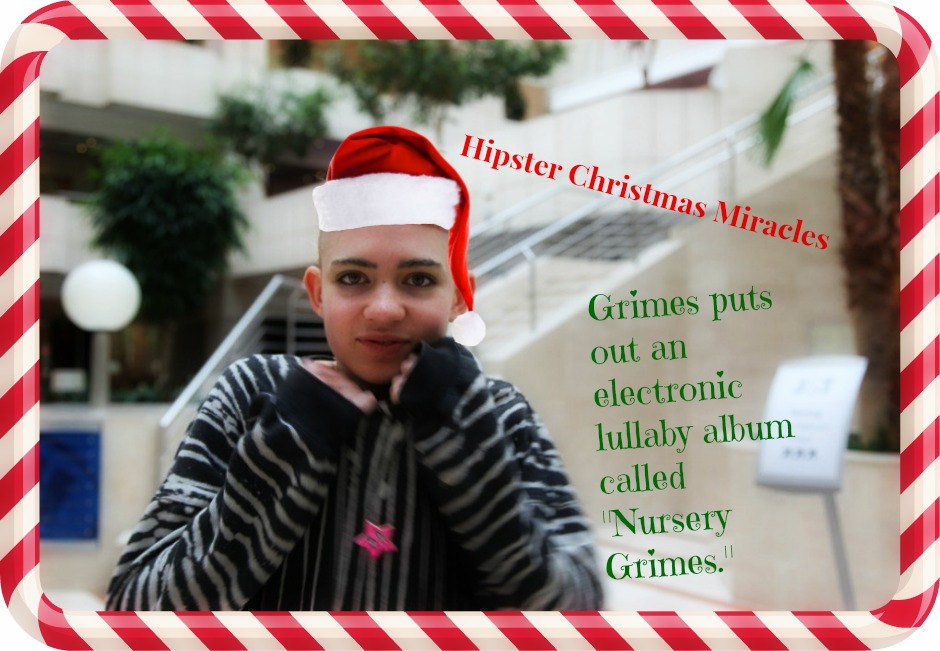 Hipster Christmas Miracles - Grimes - Nursery Grimes