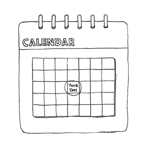 Today Is Your Day Calendar