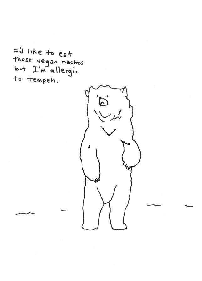 Bears Dont Eat Tempeh