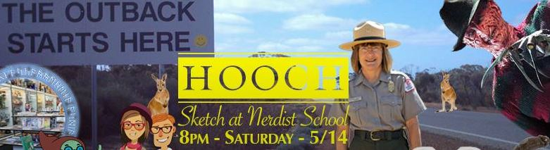 Hooch Sketch Comedy May 2016 at Nerdist School