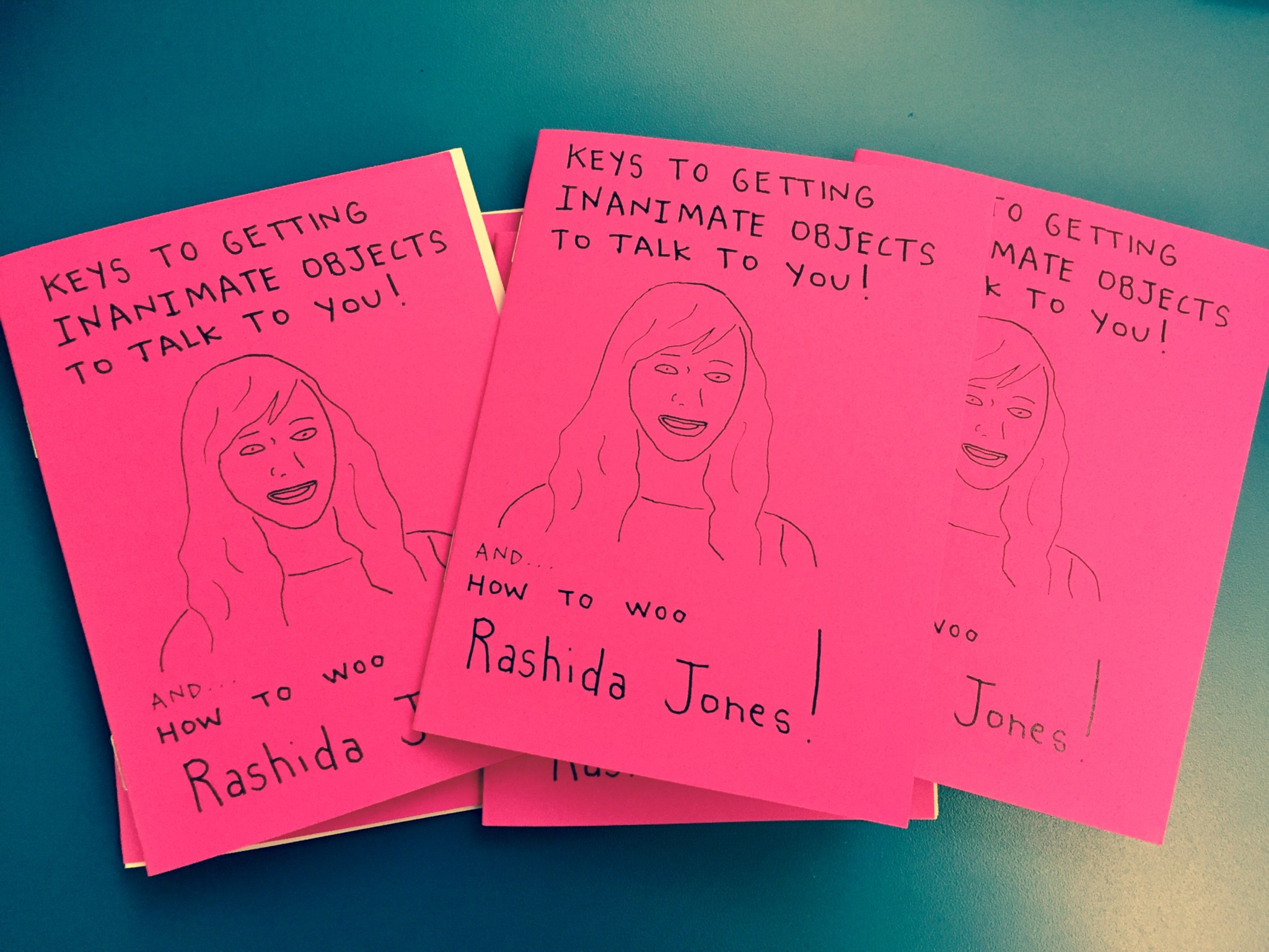 How to Woo Rashida Jones